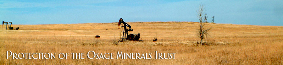 Protection of the Osage Minerals Trust